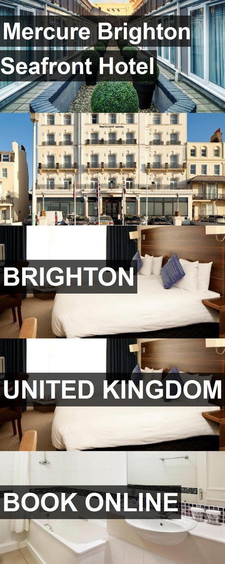 Hotel Mercure Brighton Seafront Hotel in Brighton, United Kingdom. For more information, photos, reviews and best prices please follow the link. #UnitedKingdom #Brighton #hotel #travel #vacation