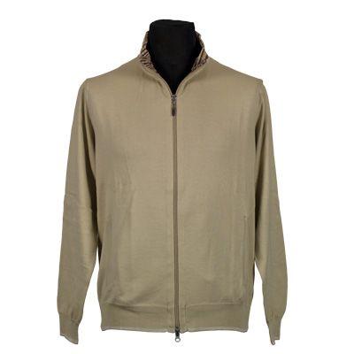 Maglia - IL GRANCHIO - Maglia in puro cotone manica lunga - Beige - Estivo. € 29,00. #hallofbrands #hob #maglia #sweater #jersey #knitwear