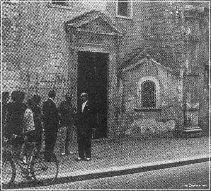 Chiesa della SS.Trinita, anche chiamata di Sant'Anna (foto d'epoca)