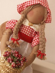 COUNTRY APPLE DOLL