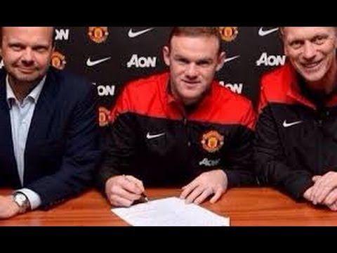 Video Parodi Perpanjangan Kontrak Wayne Rooney
