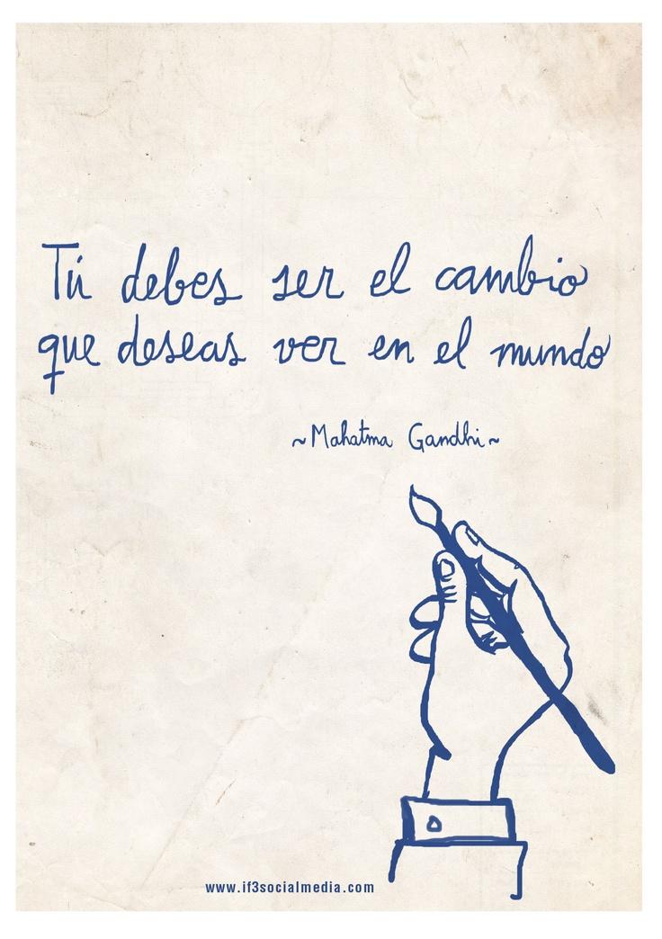 Quote Gandhi @IF3Socialmedia  www.if3socialmedia.com