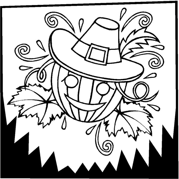 advanced coloring pages thanksgiving - photo#24