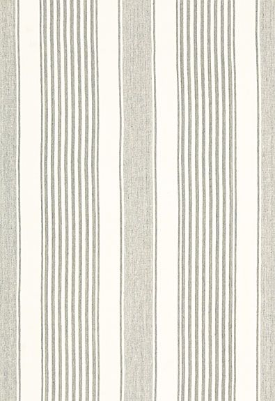Summerville Linen Stripe in Gull from Schumacher