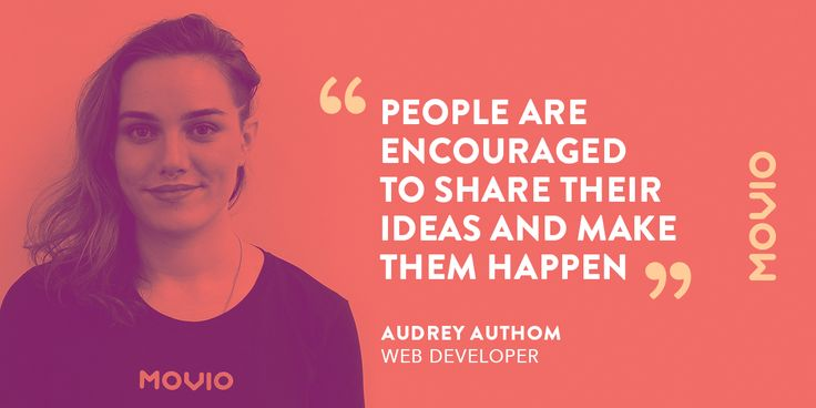 Audrey Authom - Web developer