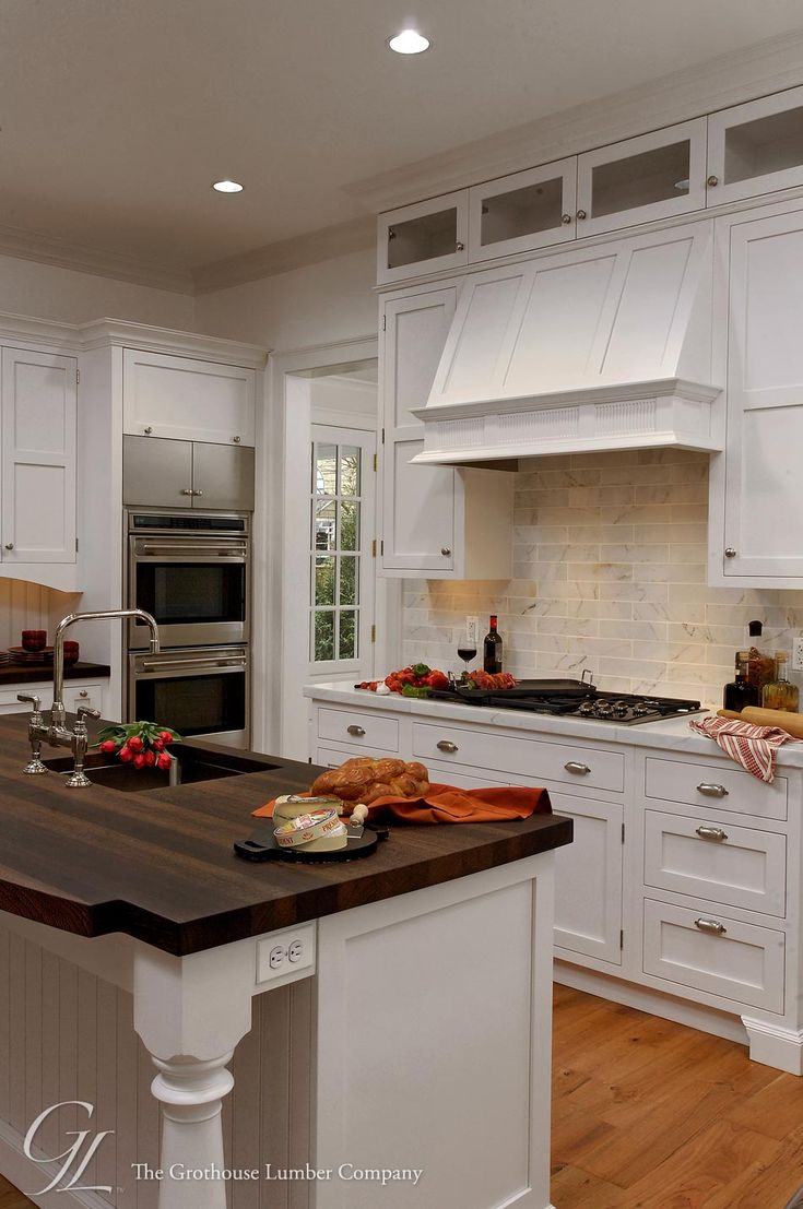 161 best kitchen islands with wood countertops images on pinterest