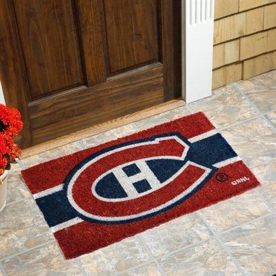"Montreal Canadiens 18"" x 30"" Coir Welcome Mat #myNHLWishListSweeps"
