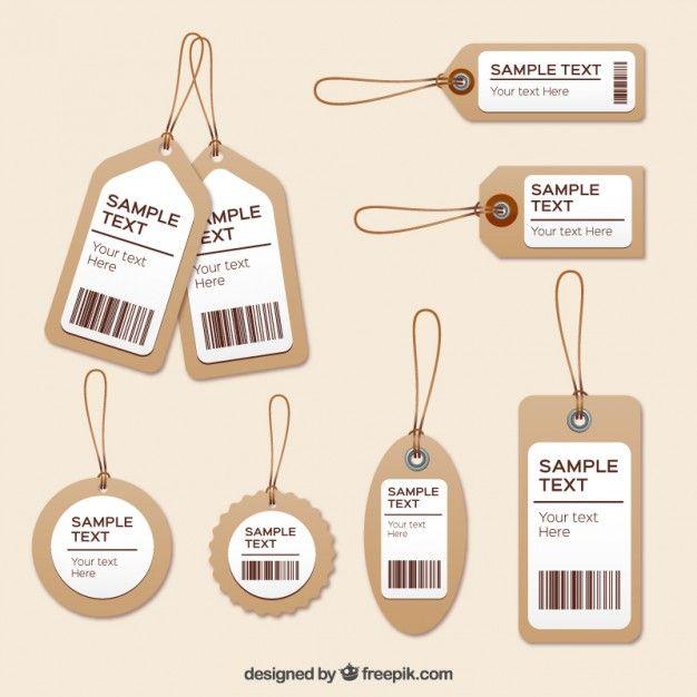 Etiquetas de ropa Vector Gratis                                                                                                                                                                                 Más