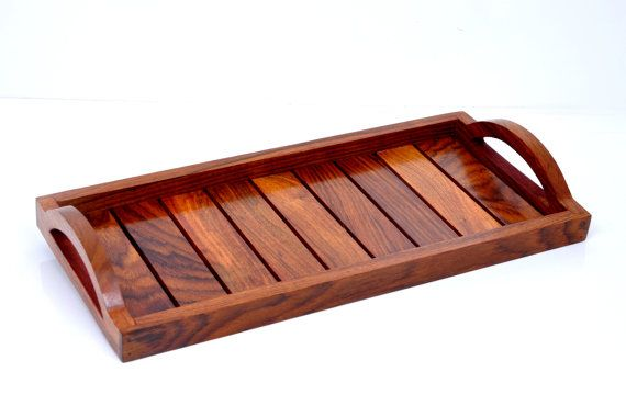 Hashcart Handicraft Wooden Tray for Serving of by Hashcart on Etsy