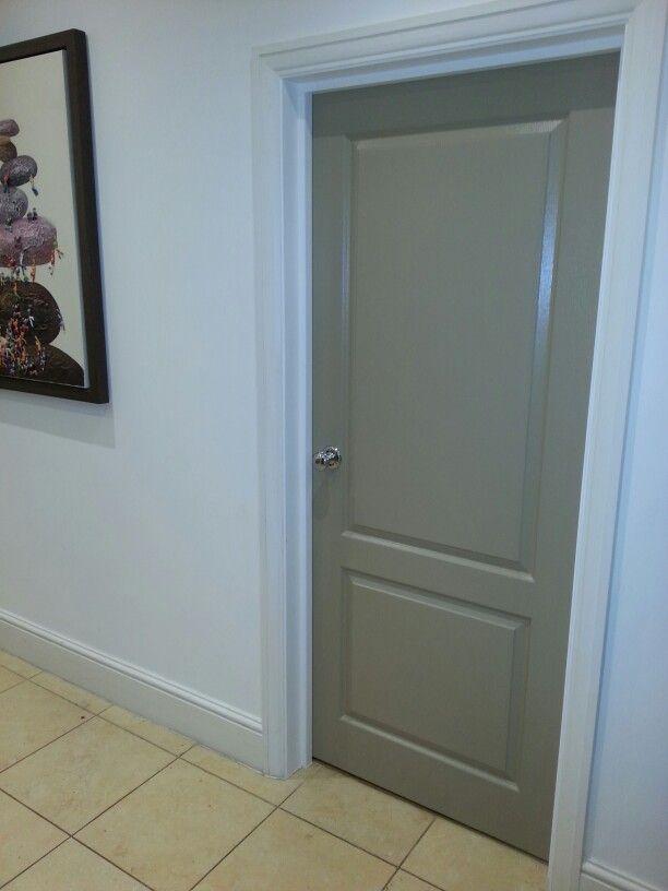 My Farrow and Ball London Stone internal door