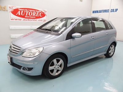 Japanese vehicles to the world: 19518T2N8 2006 Mercedes Benz B170 RHD for Tanzania...