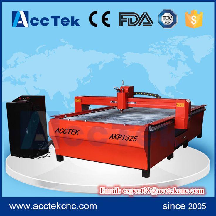 acctek plasma cutting machine cnc/ 1325 cutting machine plasma/ cnc metal cutting machine for sale