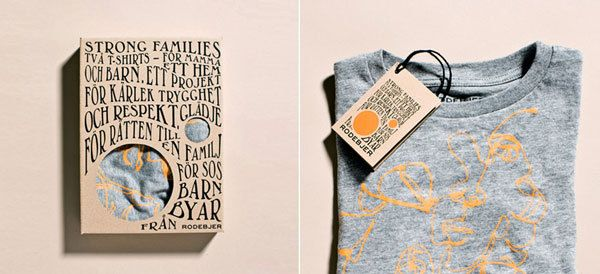 Strong families for SOS Barnbyar & Rodebjer by Planeta Design , via Behance