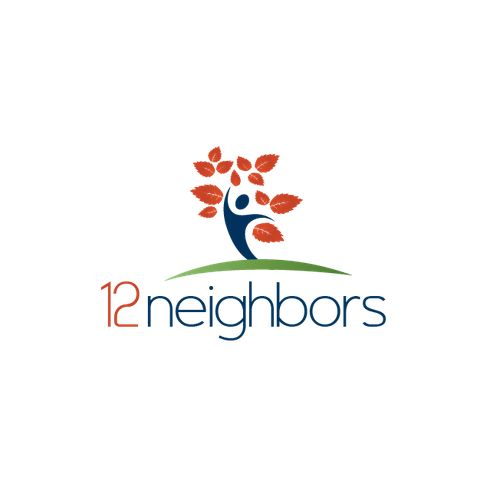 12 Neighbors �20Logo design for a cool new social impact venture and movement