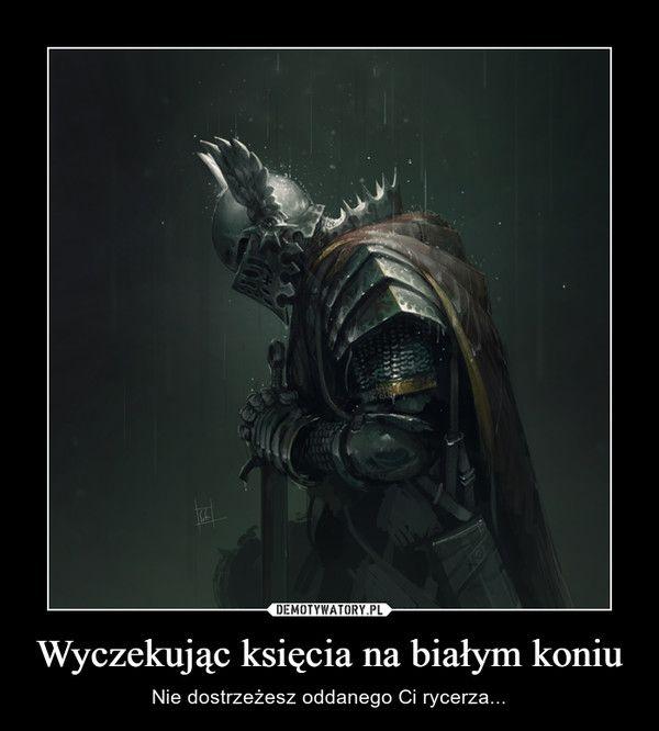 Wyczekując księcia na białym koniu – Nie dostrzeżesz oddanego Ci rycerza...