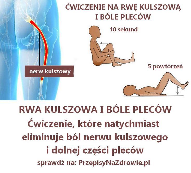 Silny ból nerwu kulszowego (rwa kulszowa) tak jak ostry ból w dole pleców czasami może całkowicie zakłócić nasze codzienne czynności. Dlatego warto poz