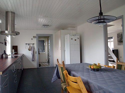 Fritids hus til salg på Samsø med stort nyligt ombygget køkken