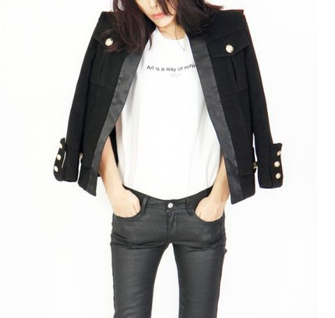 Maxine Tuxedo Wool Blazer $149.00 http://www.helloparry.com/collections/outwear/products/maxine-tuxedo-wool-blazer