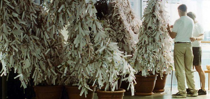 Árbol de los deseos de Yoko Ono