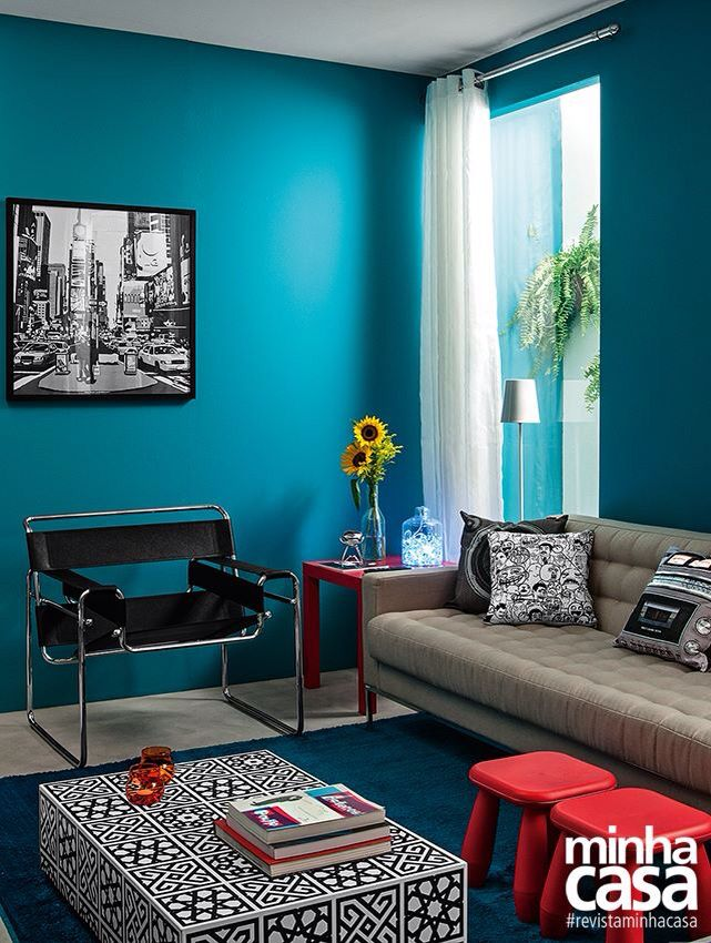 17 mejores ideas sobre decoração sala azul turquesa en pinterest ...