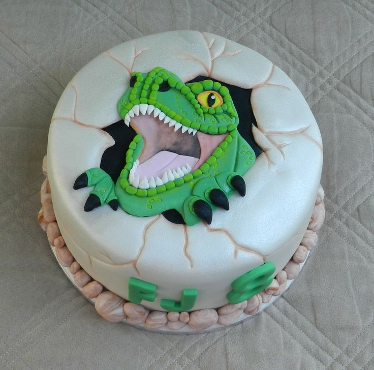 2d T Rex Cake My Creations Pinterest 2d Cakes And T