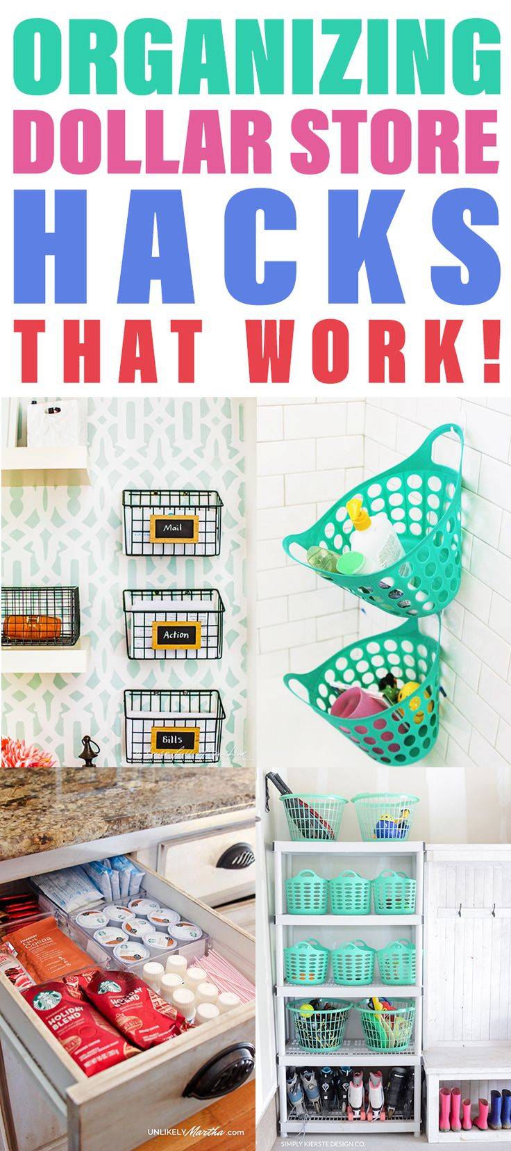 Organizing With Dollar Store Hacks That WORK