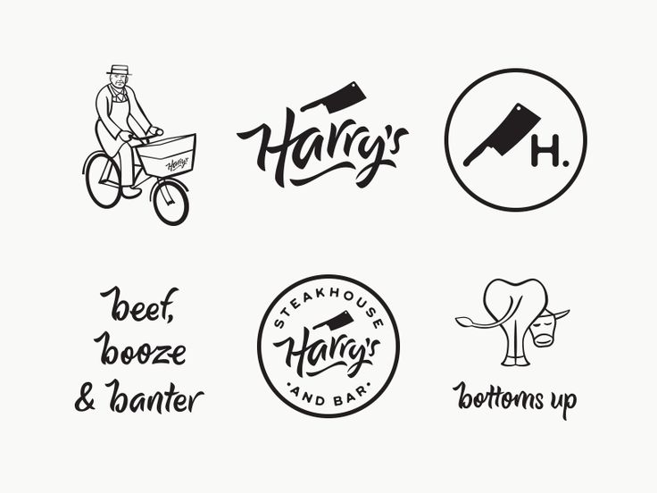 Harry's Steakhouse & Bar by Matt Vergotis #Design Popular #Dribbble #shots