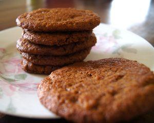 Suikervrije en tarwevrije Bastogne koeken met rijstmeel. Dieet-proof