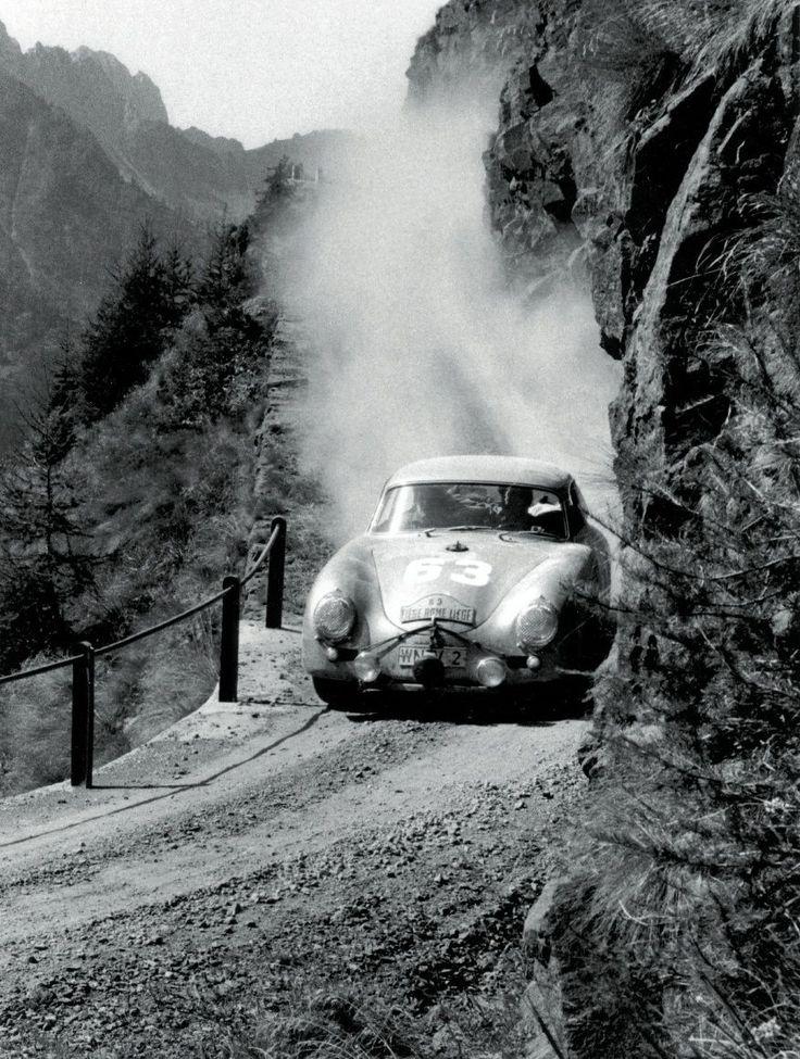Porsche 356   Liège-Rome-Liège
