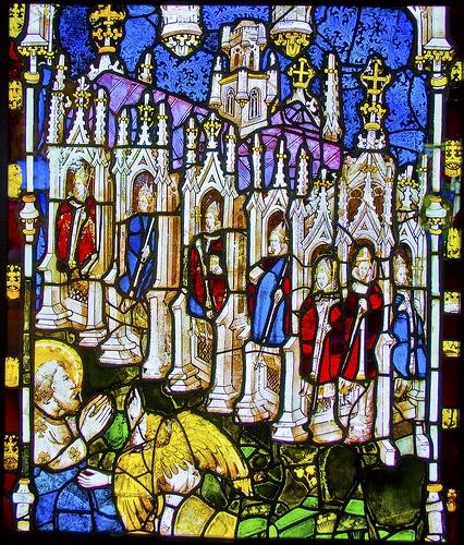 York Minster Medieval Window