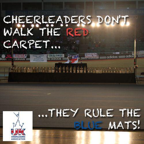 Cheerleader Meme - Inspirational Words - UKCA
