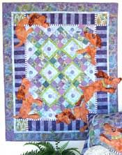 Whimsical Quilt Patterns, Ruff around the edges: Quilts Dogs, Java House, Children Quilts, Lap Quilts Patterns, Dogs Quilts, House Quilts, Quilts Ideas, Dogs Theme, Animal Quilts