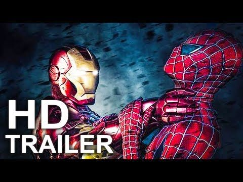 SPIDER-MAN HOMECOMING First 5 Minutes Movie Clip + Trailer NEW (2017) Superhero Movie HD - YouTube