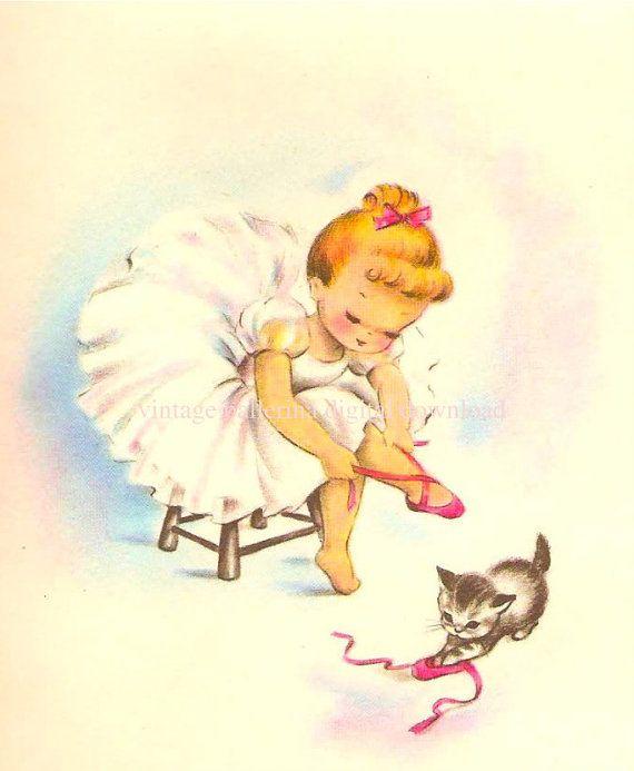 Vintage Ballerina From Etsy Seller Myah S Bedroom Decor