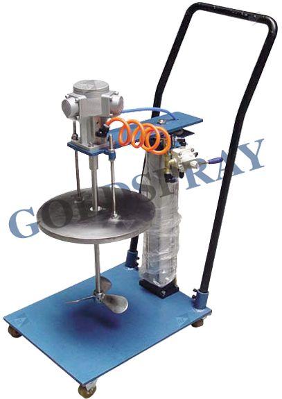 Agitador Neumático Pistón Móvil Mezclador - GoldSpray