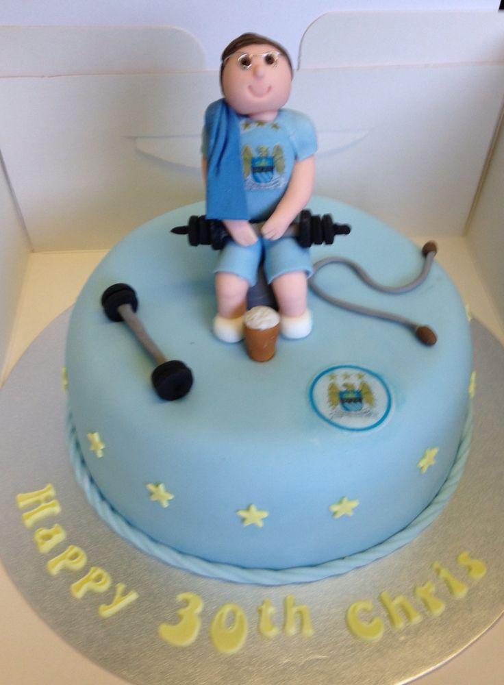 City fan gym cake
