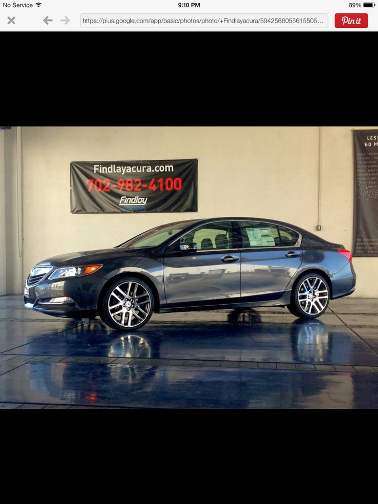 Ace Alloy Wheels >> 2014 Acura RLX with black chrome rims | 2014 Acura RLX | Pinterest | Black