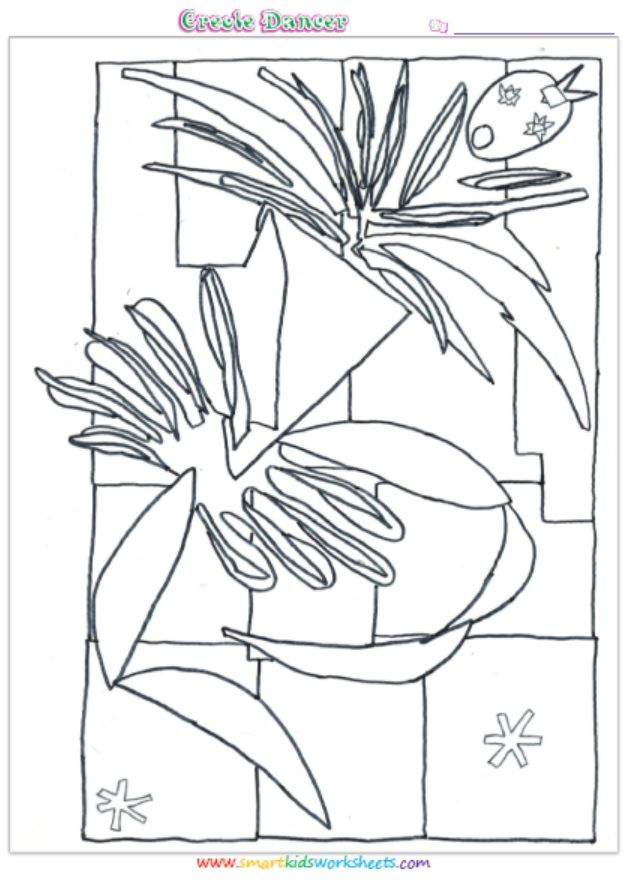 Henri Matisse Franz Joseph Haydn Coloring Pages And Biography