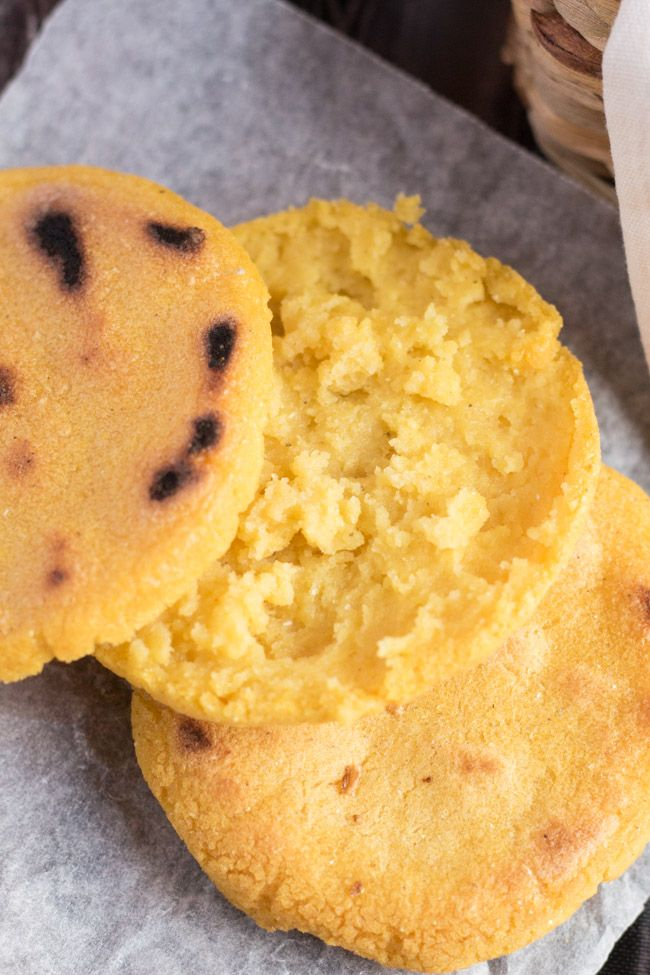 """How To Make Arepas. A great gluten free alternative to bread. 