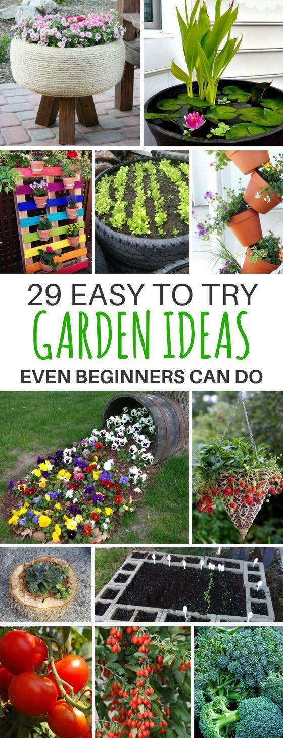 29 Breathtaking DIY Gardening Ideas for Your