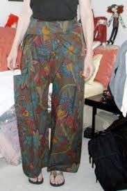 Afbeeldingsresultaat voor how to make thai fisherman pants pattern