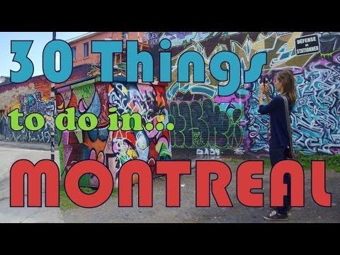 30 Things to do in Montreal | Top Attractions Travel Guide