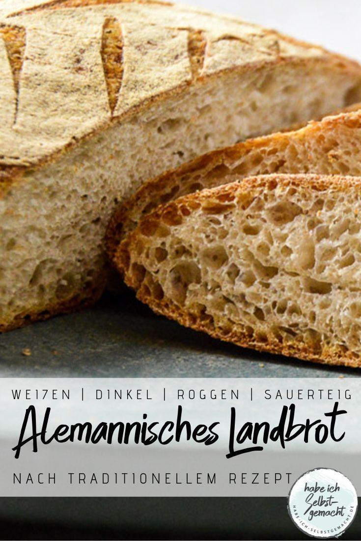 Brot #8 - Alemannisches Landbrot  Rezept (mit Bildern)  Rezepte