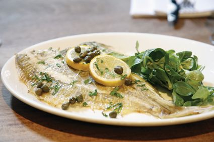 Dish of #Dover #Sole. #Delicious food image.