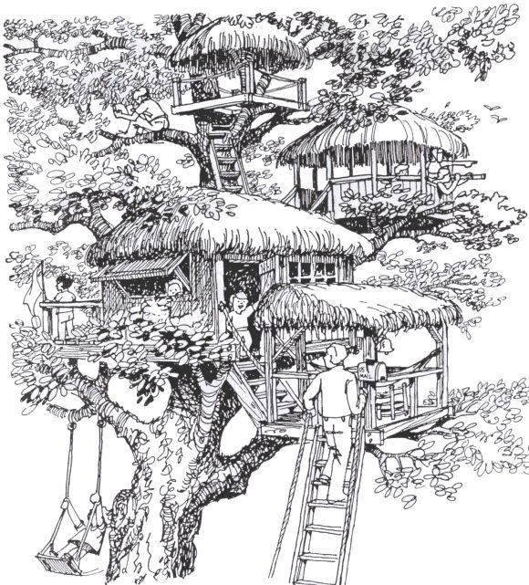 81 best Treehouse images on Pinterest | Drawings, Drawing and ...