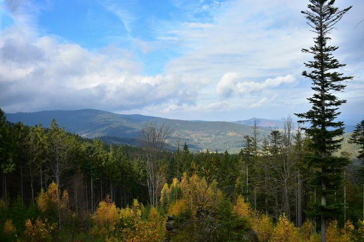 Krajina Šumava Podzim