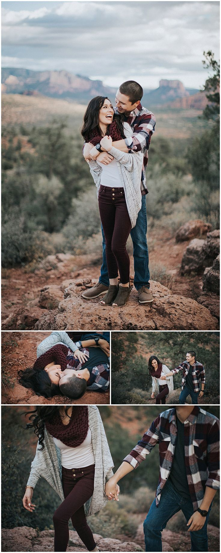 Romantic Sedona, Arizona engagement session!  Tarah Elise Photography