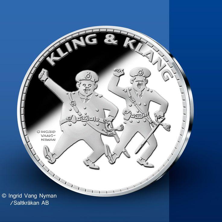Kling & Klang - Pippi Långstrump Silvermedaljer