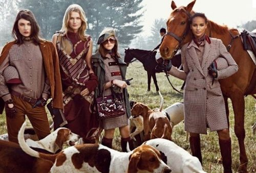 Behind the scenes of the Tommy Hilfiger Fall 2012 Campaign!