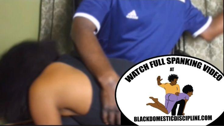Black Domestic Discipline Black Women getting spanked BlackDomesticDiscipline.com
